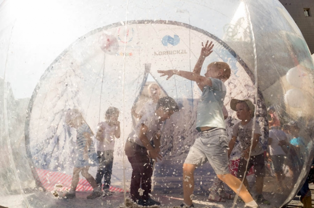 Более    40 тысяч горожан посетили в этом году День города, который праздновали несколько дней!