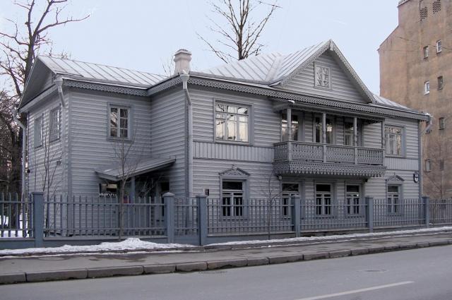 Дом Матюшина был своеобразной штаб-квартирой футуристов.