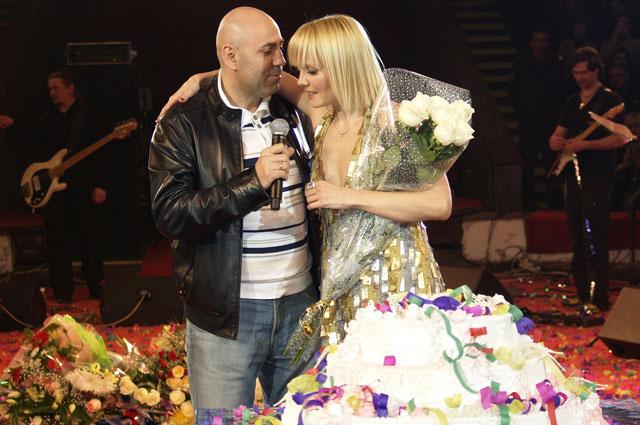 Иосиф Пригожин и Валерия. 2013 год
