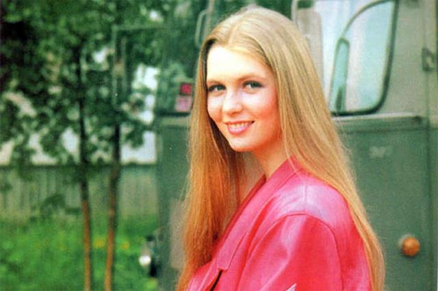 Анастасия Немоляева в фильме «Интердевочка», 1989 г.