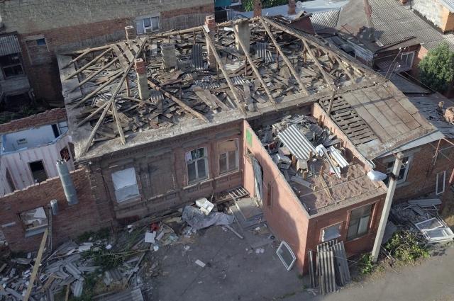 Дом по улице Коммунаров в Краснодаре, который чуть не снесли.