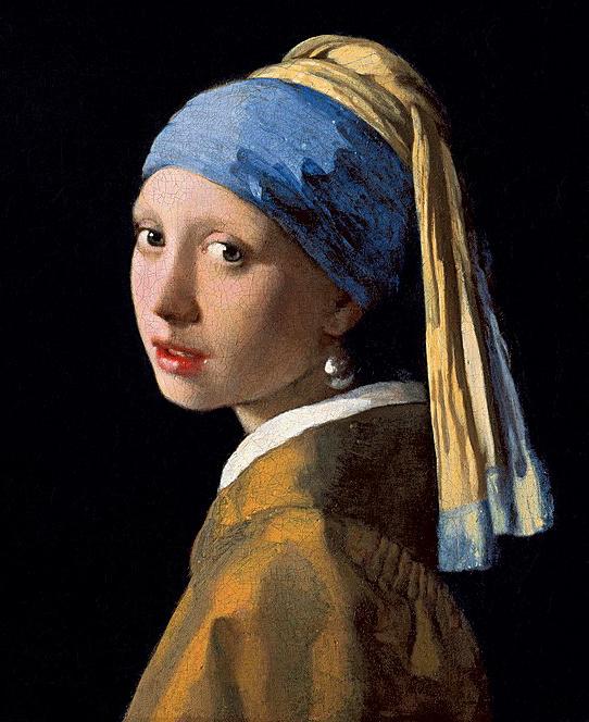 «Девушка с жемчужной сережкой», Ян Вермеер. ок. 1665