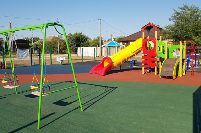 Детскую игровую площадку по ул. Шейко возвели по программе местных инициатив.