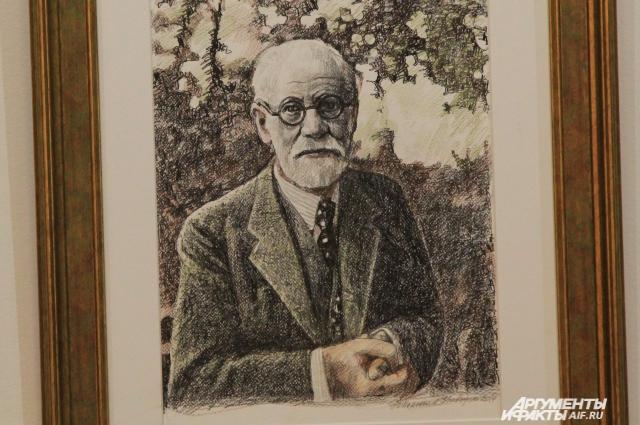 Таким увидел в своем творчестве Фрейда ростовский художник Николай Полюшенко.