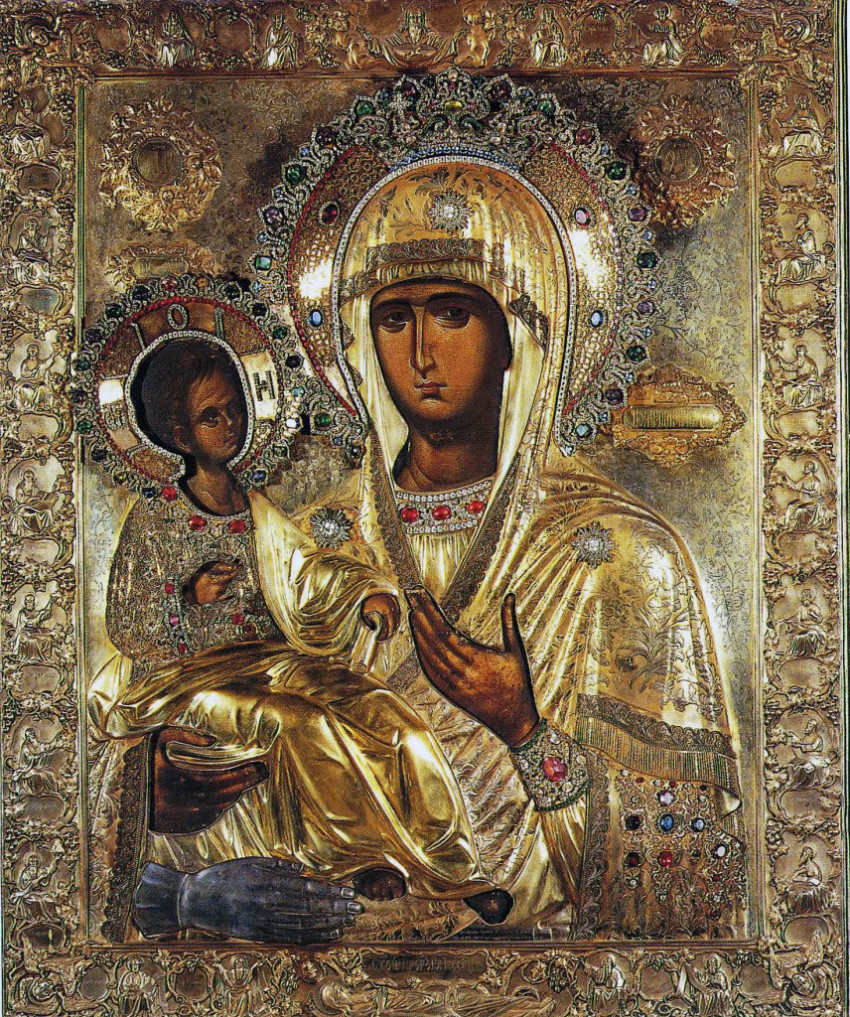 Икона Всестарица