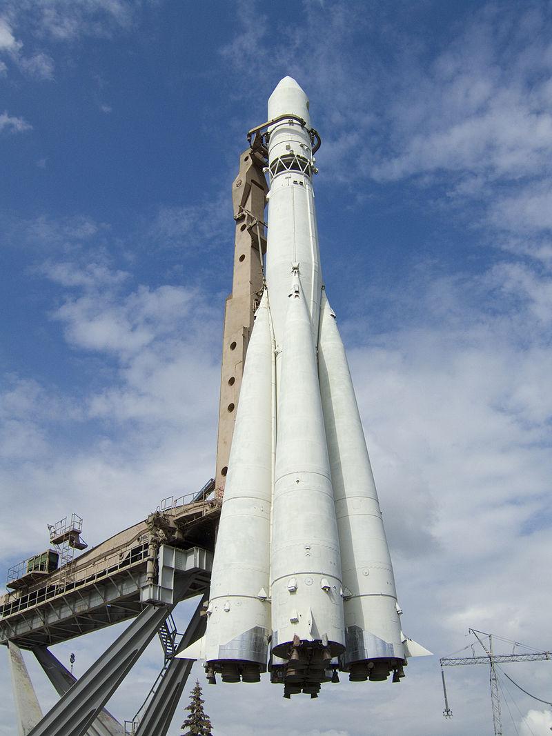 Копия ракеты «Восток», ВДНХ, Москва