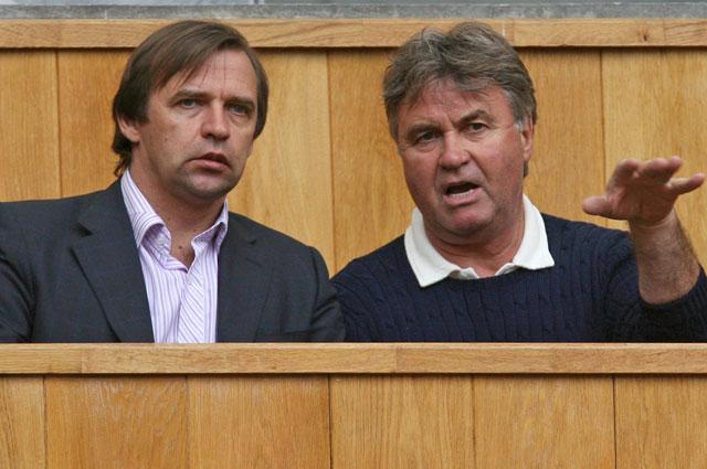 Александр Бородюк (слева) и Гус Хидиинк.