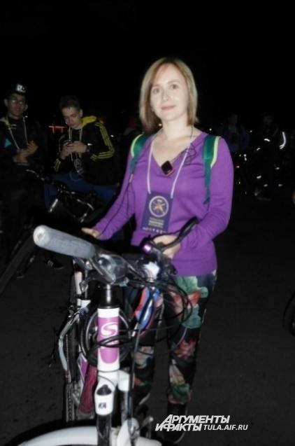 Велосипед для Елены Чичкиной - основное средство передвижения