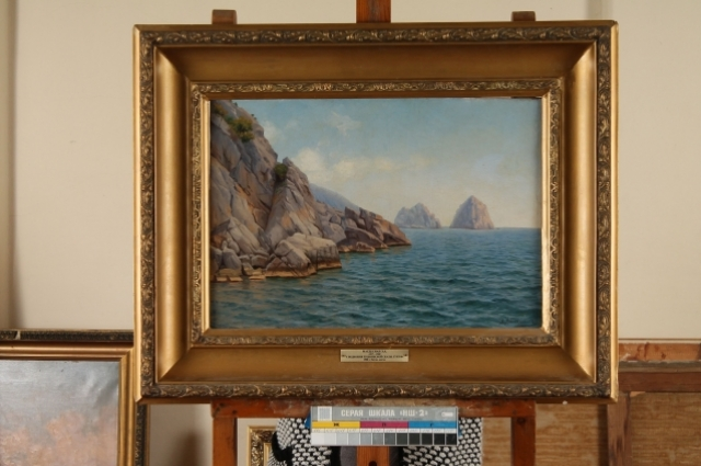 Картина Эммануила Магдесяна.
