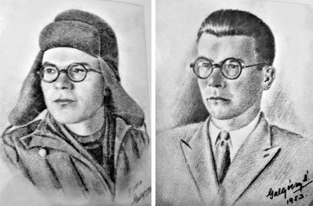 На память Аязу Гилязову достались два его портрета.