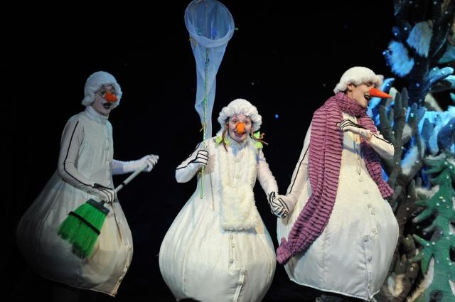 Приключения снежных человечков.