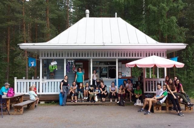 Во время поездки по волонтёрскому проекту можно ездить и на экскурсии.