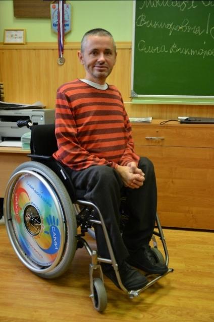 Виктор сел в инвалидное кресло восемь лет назад.
