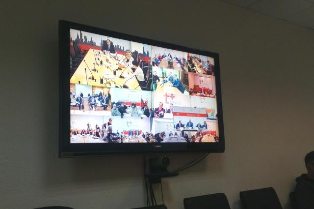Встреча с журналистами прошла в формате видеоконференции.