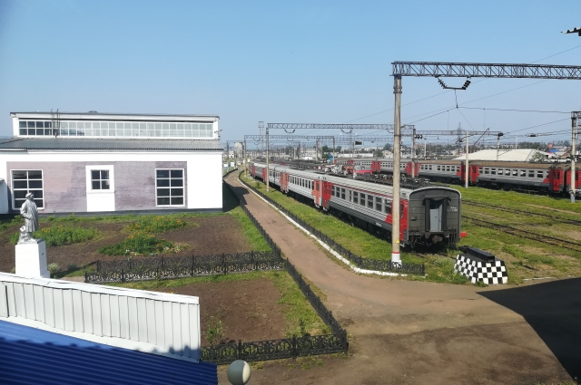 Площадкой для пилотного проекта выбрано сервисное локомотивное депо Братское.