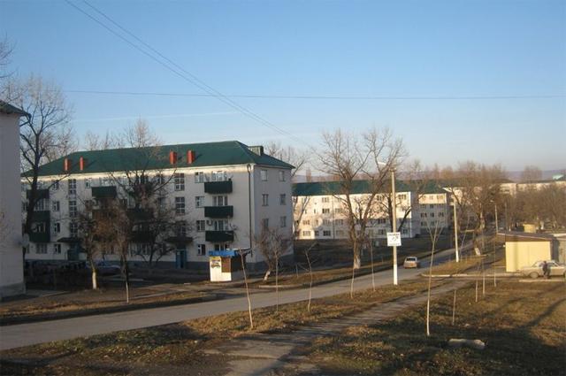 Улица имени 84-х псковских десантников в Грозном.