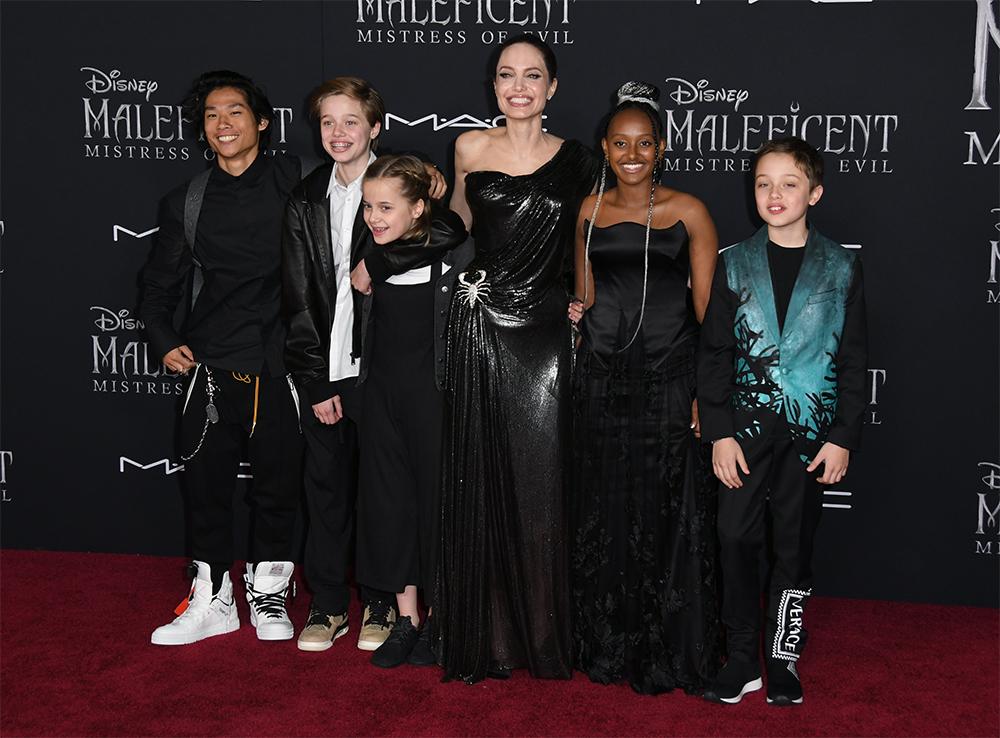 Дети Анджелины Джоли.