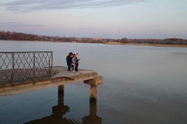 На берегу Казанки будет парк.