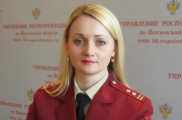 Вера Быкова, пресс-секретарь управления Роспотребнадзора по Пензенсской области