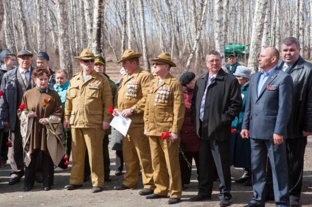 в нескольких городах области состоялась акция «Маршрут памяти».