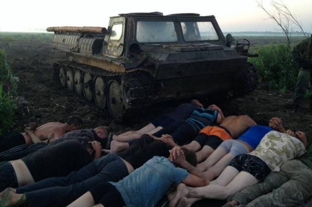 Правоохранители задержали группу старателей