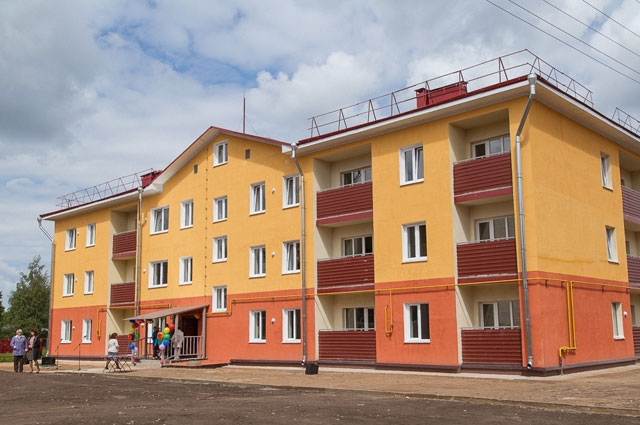 Энергоэффективный дом в Парфино Новгородской области.