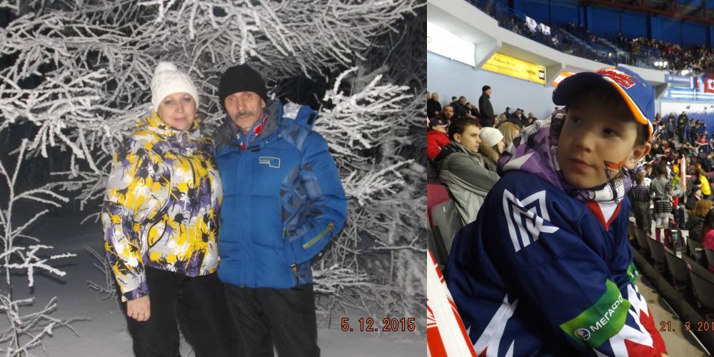 «Любовь нужно дарить» - с такими мыслями Елена и Андрей Хазовы забрали из детдома Павла. Ради  будущего сына родители каждый день ездят на тренировки по хоккею в соседний Златоуст.