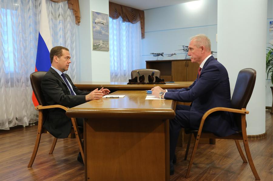 Сергей Морозов - Дмитрию Медведеву: «По- строим 15 школ».