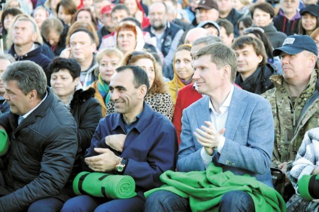 В этом году на фестивале впервые побывал глава региона Максим Решетников.