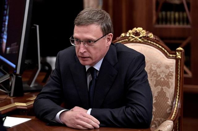 Новый глава Омской области Александр Бурков.