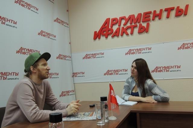 Борис Бурдаев рассказал нашему изданию, что запишет два альбома в Самаре