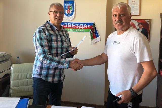 Андрей Разин пополнил тренерский штаб пермского клуба.
