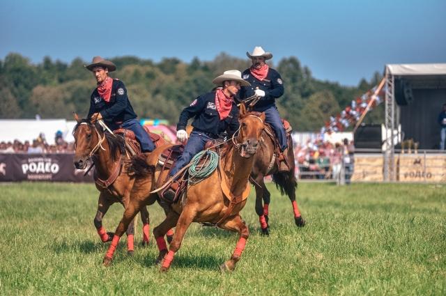 Конкурс визитка - это танцы на лошадях.
