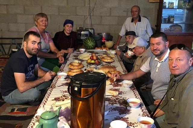 В селе Маловодном съёмочную группу встретили радушно