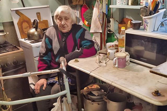 Татьяна Рудыковская живет в том доме, где родилась и прошла блокаду.