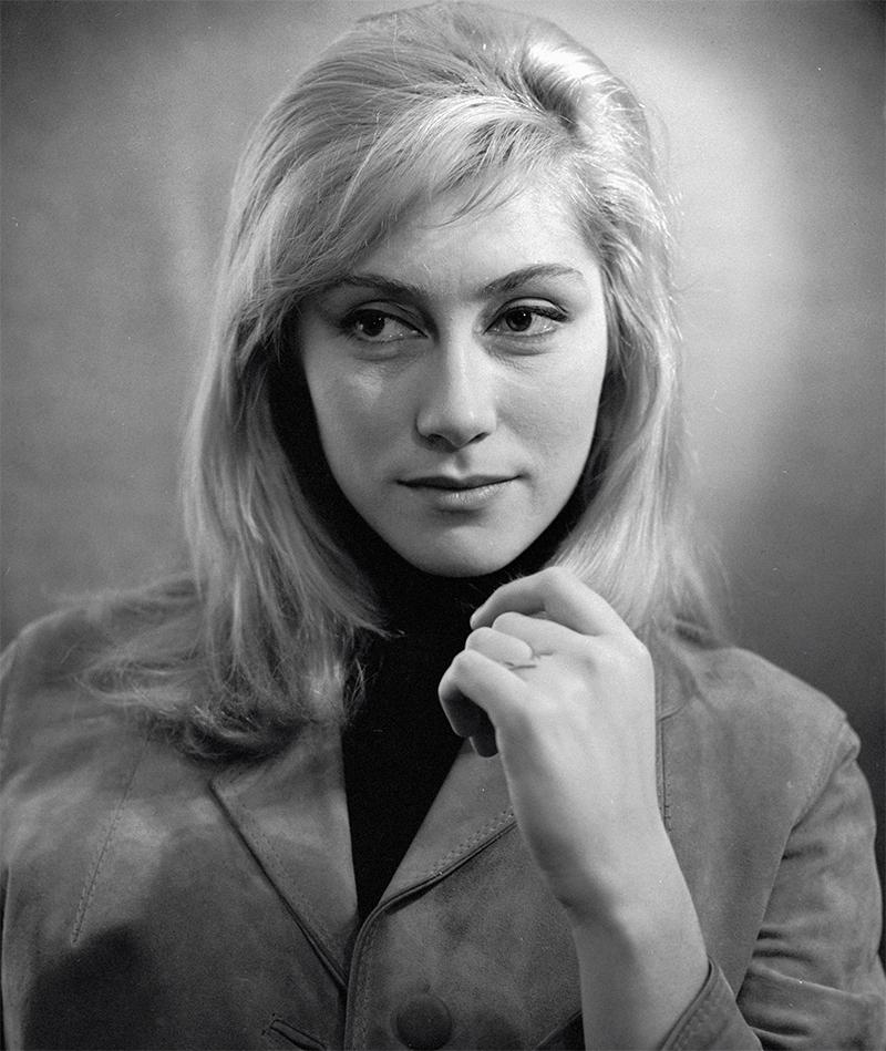 Ирина Мирошниченко, актриса МХАТ СССР. 1969 год.