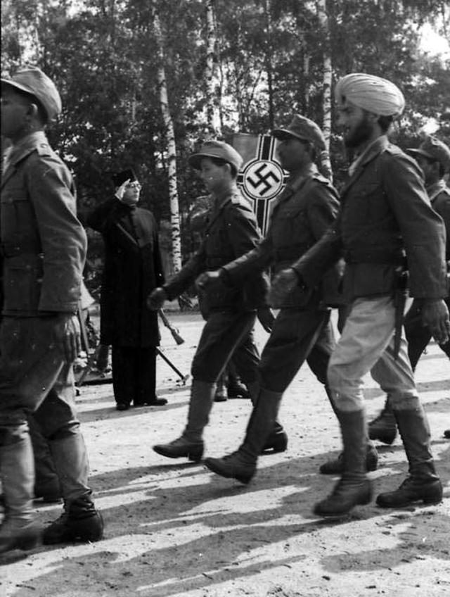 Солдаты Индийского легиона СС, 1942 г.