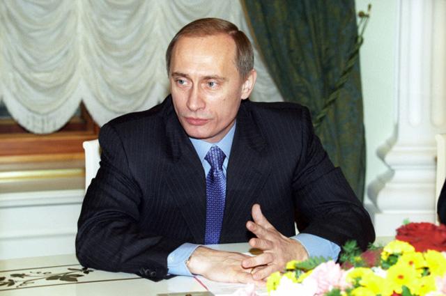 Исполняющий обязанности Президента РФ Владимир Путин, 2000 год