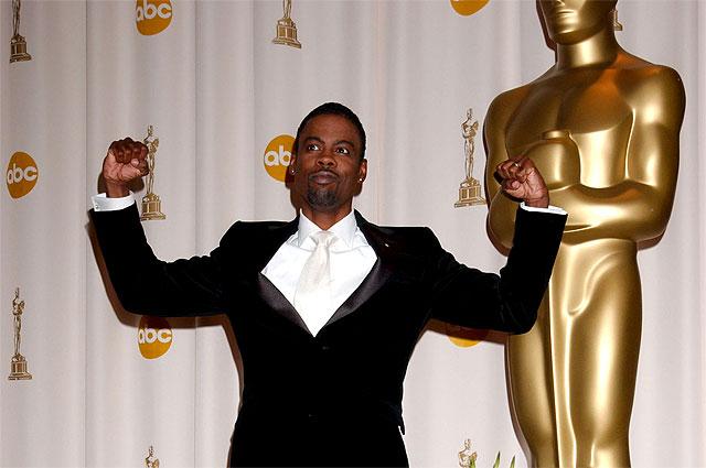 Ведущий премии Оскар в 2016 году актер Крис Рок