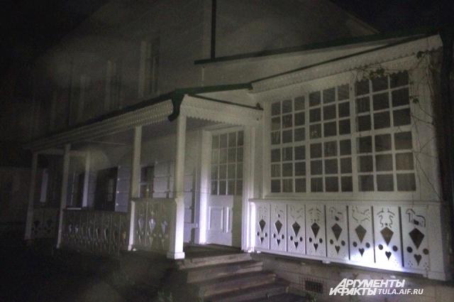 Дом Толстого.