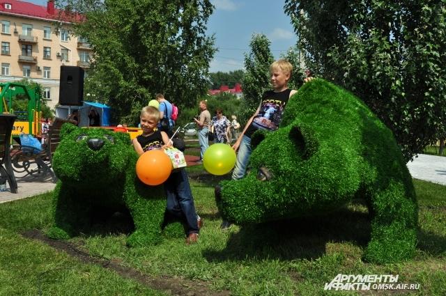 В Омске появился ротари-парк.