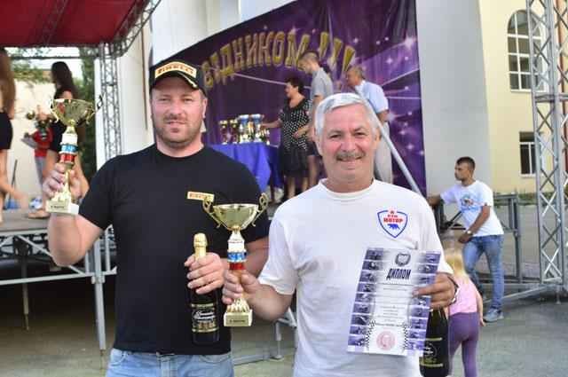 Андрей Головкин и Тимофей Воробьев по итогам гонки заняли 2 место класса R2.