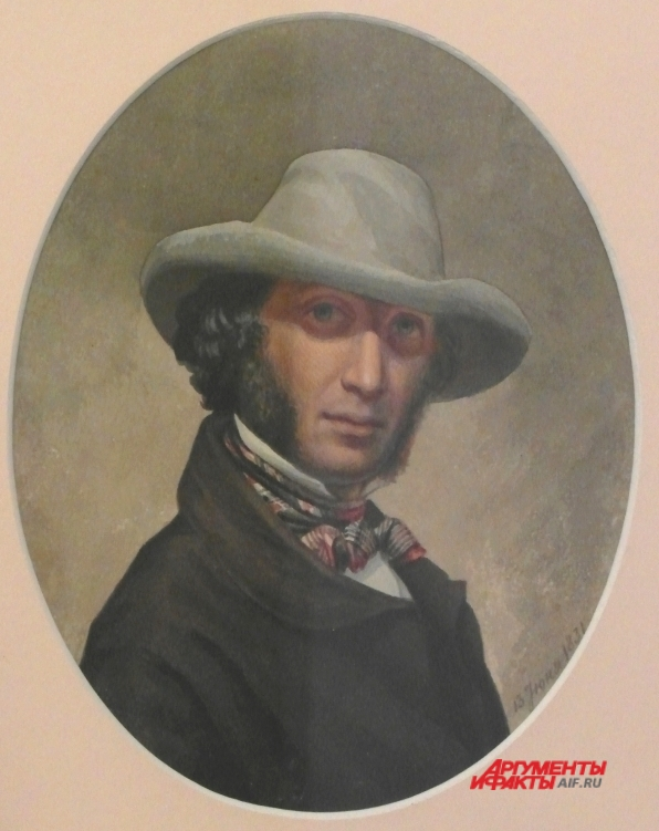Пушкин в Царском селе.