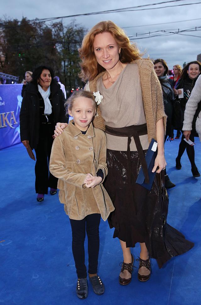 Мария Киселёва с дочерью Дашей.