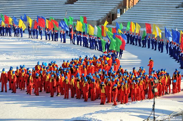 Эстафета Олимпийского огня в Адыгее