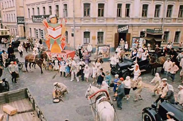 Пересечение улицы Воронцово Поле и Подсосенского переулка.