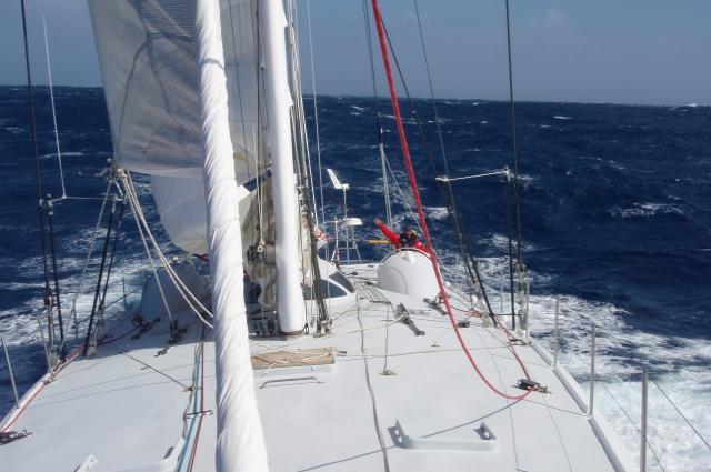 Современные яхты делают за путешественников половину работы.