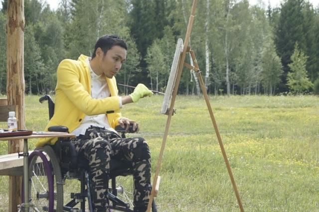 Картины Рустама - отражение его души.