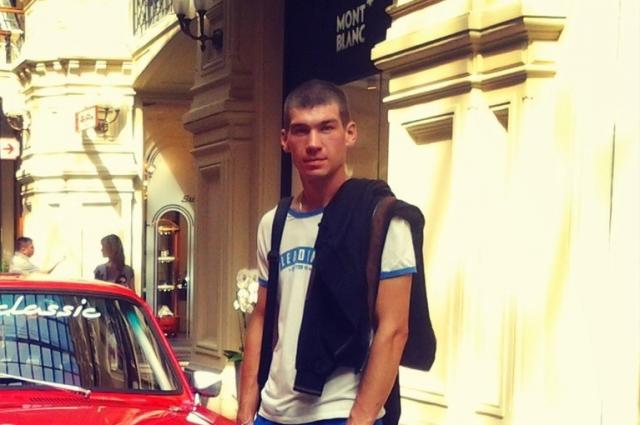 Сергей до аварии.