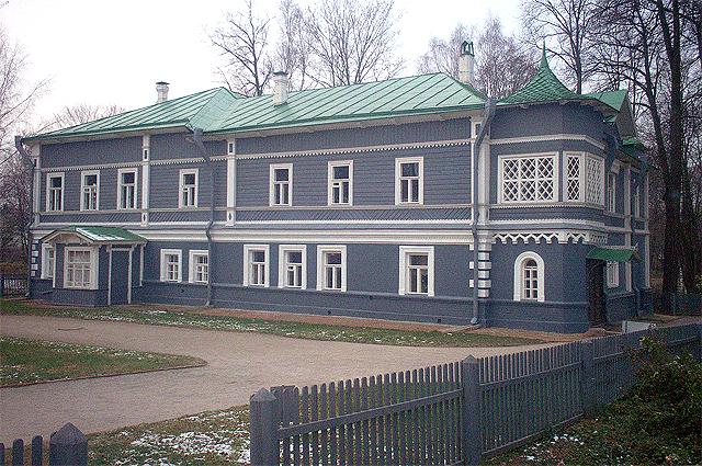 Клинский дом Чайковского.
